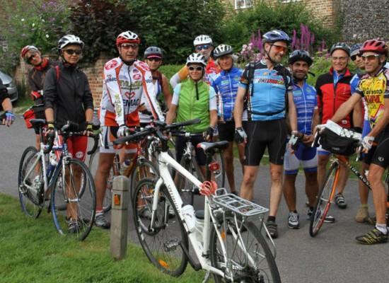 Le foto del ciclotour 2012