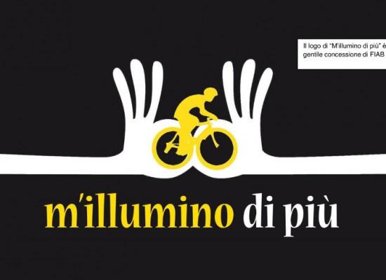 m'illumino di più – il flash mob per evidenziare le bici-criticità