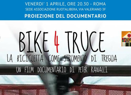 Proiezione di Bike4Truce a Roma