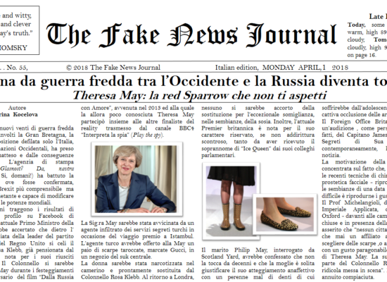 The Fake News Journal APRIL,1 Y 2018