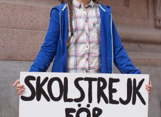 Se vuoi cambiare il mondo, PEDALA! Letter to Greta Thunberg